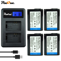 NP FW50 NP FW50 FW50 Battery + LCD USB Dual Charger for Sony Alpha 7 A72 A7R Nex7 NEX 5 A6000 5100 a3000 a35 A55 a7s II SLT A33