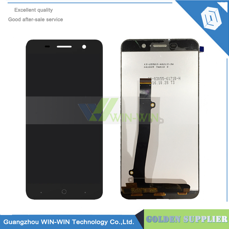 Black/White For ZTE Blade A602 602 LCD Display+Touch Screen Digitizer Glass Panel Assembly Phone Replace Parts Free Shipping 1 pcs for iphone 4s lcd display touch screen digitizer glass frame white black color free shipping free tools