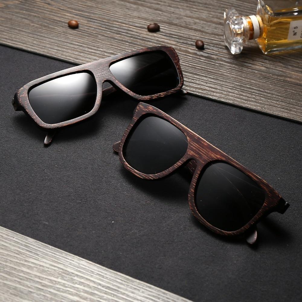EZREAL Cool Gafas de sol de bambú de madera Hombres Gafas de sol de - Accesorios para la ropa - foto 6