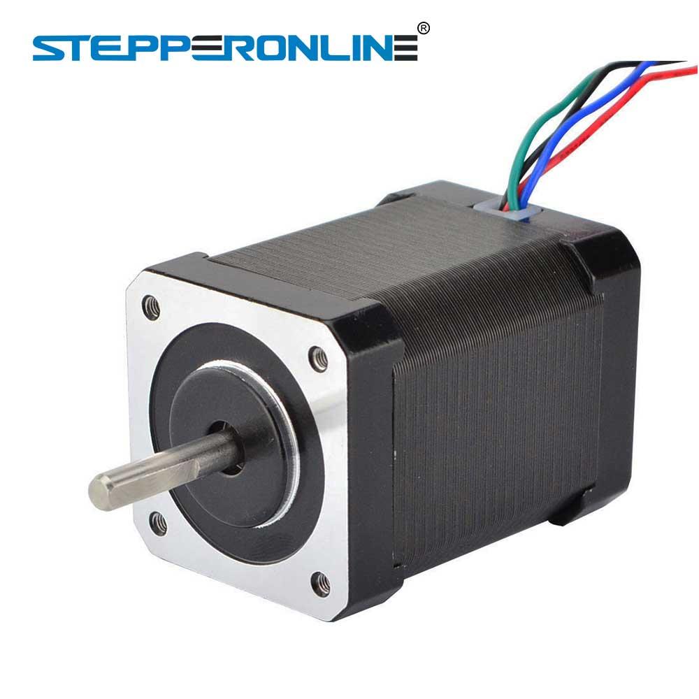 Nema 17 Stepper Motor 65Ncm(92oz.in) 60mm 2.1A 4-lead Nema17 Motor 42BYGH Stepper for 3D Printer CNC XYZ Motor