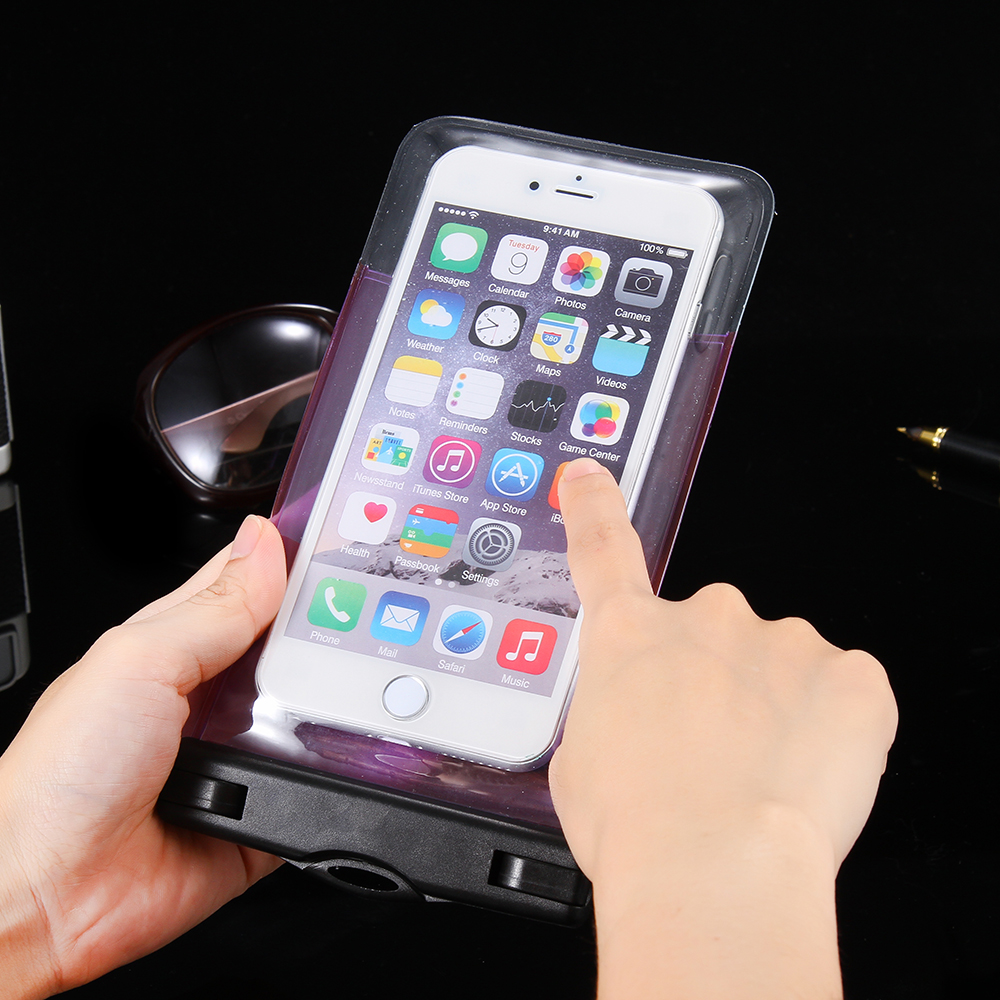 promo code bda5e 5e67e Sealed Waterproof Pouch Phone Apple Iphone 8 6 6S 7 5S SE Samsung S7 S6  Edge J3 J5 J7 A5 A3 A7 Bags Cases