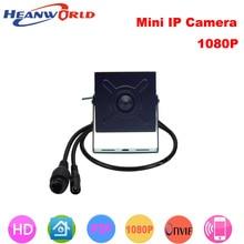 Heanworld 1080 P супер мини-веб-камера 2.0mp full hd охранное видеонаблюдение внутри помещения Камера onvif с 3,7 мм линзы ip Камера PoE