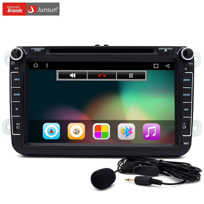 junsun 8 car dvd radio player audio android 6 0 gps. Black Bedroom Furniture Sets. Home Design Ideas
