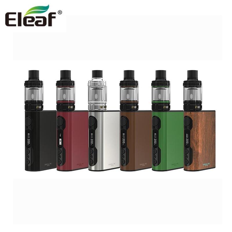 100% Original Eleaf iStick QC 200W with Melo 300 Starter Kit 3.5ml 5000mah Eleaf Vape 200W Box Mod набор eleaf ikiss 220 mah автомат стальной