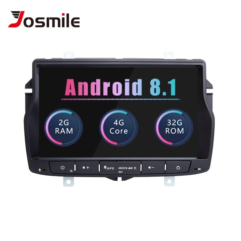 Josmile 2 Din Android 8.1 Car Radio For Lada Vesta Stereo Multimedia GPS Navigation Tape Recorder NO DVD Head Unit Wifi 4G Dab+