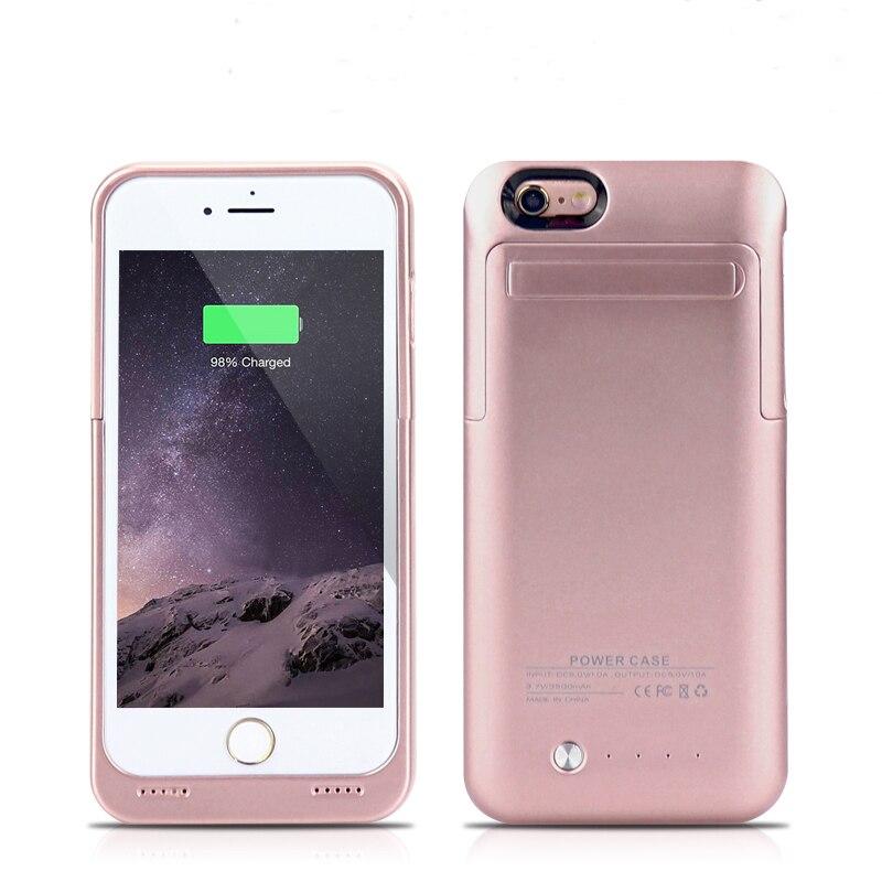 imágenes para GagaKing powerbank Para iPhone6 6 s de La Batería Del Caso Del Cargador de Batería Externa Power Pack Case Banco de la Energía de Carga para el iphone 6 6 s