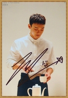 hand signed EXO CHEN Kim Jong Dae autographed photo 6 inches free shipping K POP 022018B