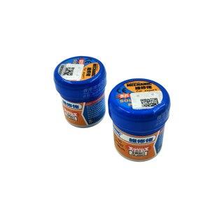 Image 4 - 5pcs/lot XG 50 Solder Paste No clean Sn63 Pb37 Flux 20 38 Microns 183 Celsius Melt Point XG50 Mechanic Solder Soldering Flux