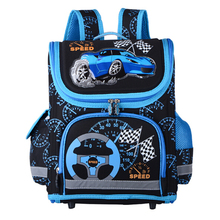 New 2017 Boys Schoolbags Kids Satchel Child School Backpack EVA Folded Orthopedic Children School Bags For Boys Mochila Infantil