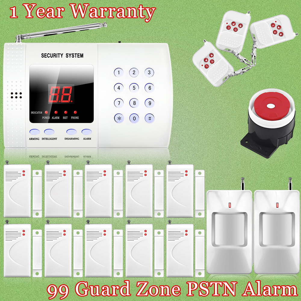 ФОТО Chuangkesafe 433mhz Wireless , Auto dial Phone Burglar PIR Home Security Alarm System Easy DIY