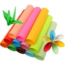 A4 копировальная бумага деловая бумага для печати документов 100 листов Бумага для заметок двухсторонняя цветная бумага для оригами несколько цветов на выбор