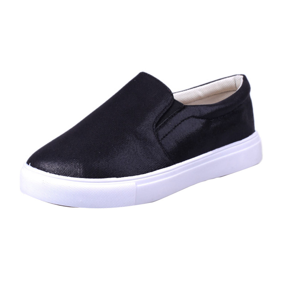 2017 New Fashion Spring Women Loafers Leather Ladies New Brand Casual Flats Shoes Slipony Lazy Comfort Shoes Female High Quality new 2015 fashion high quality lazy shoes women colorful flat shoes women s flats womens spring summer shoes size eu35 40wsh488