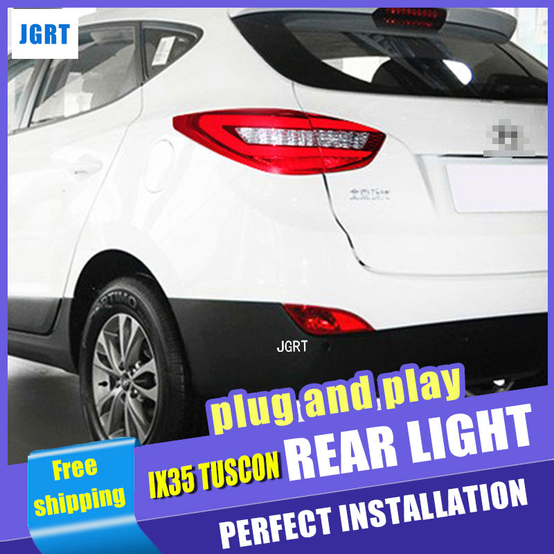 Car Styling Accessories for Hyundai IX35 Tuscon LED Taillight assembly 10-13 IX35 Tail Light Rear Lamp h7 with hid kit 2 pcs. car styling led head lamp for hyundai ix35 led headlight assembly 2010 2014 tuscon headlights drl h7 with hid kit 2pcs