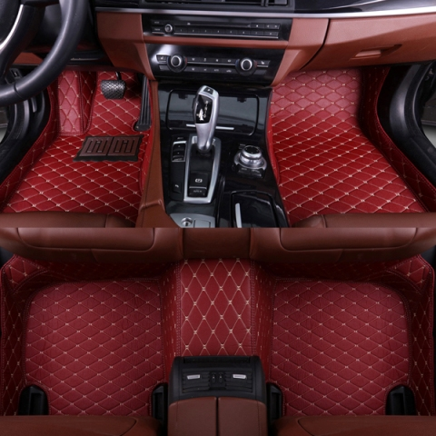 SUNNY FOX Car floor mats for <font><b>Lexus</b></font> <font><b>NX</b></font> 200 200T <font><b>300h</b></font> NT200 NX200T NX300H <font><b>F</b></font> <font><b>Sport</b></font> RX waterproof car-styling leather carpet rugs image