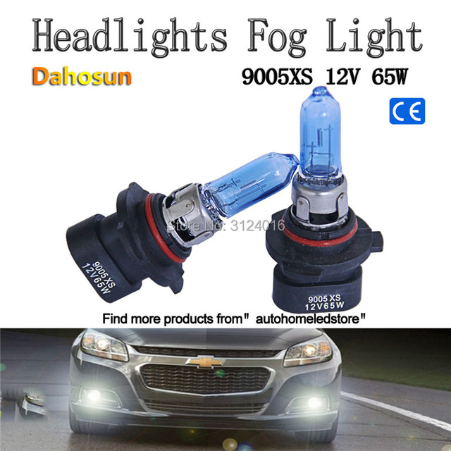 2pc X 9005 HB3 9005XS HB3A 9006 HB4 9006XS HB4A 12V 55W 60W 100W Halogen Bulb With Xenon White For Car High Beam