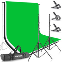 Neewer 8 5ft X 10ft 2 6M X 3M Background Stand Support System With 6ft X