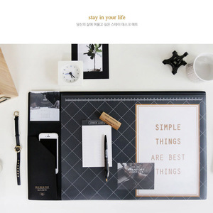 Image 5 - 2017 2018 Kalender Korea Kawaii Candy Kleur Office Desktop Tafel Mat Multifunctionele Wekelijkse Planner Organizer Houder Bureau Levert
