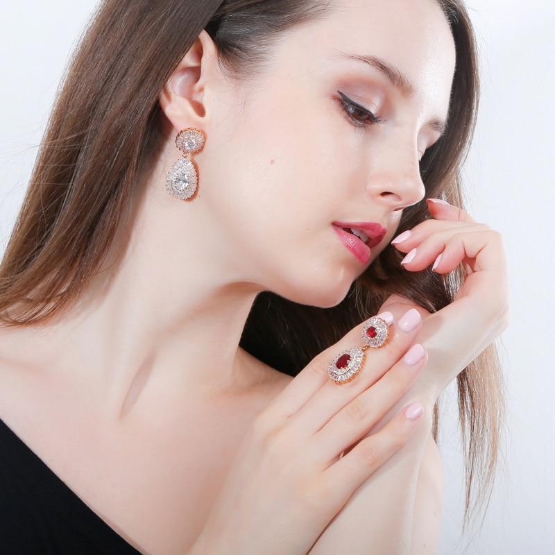 dubai gold earrings