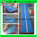 Best selling hot chinese inflatable gym mat,tumble track inflatable air gymnastics mat for Professional Gymnastics Competition