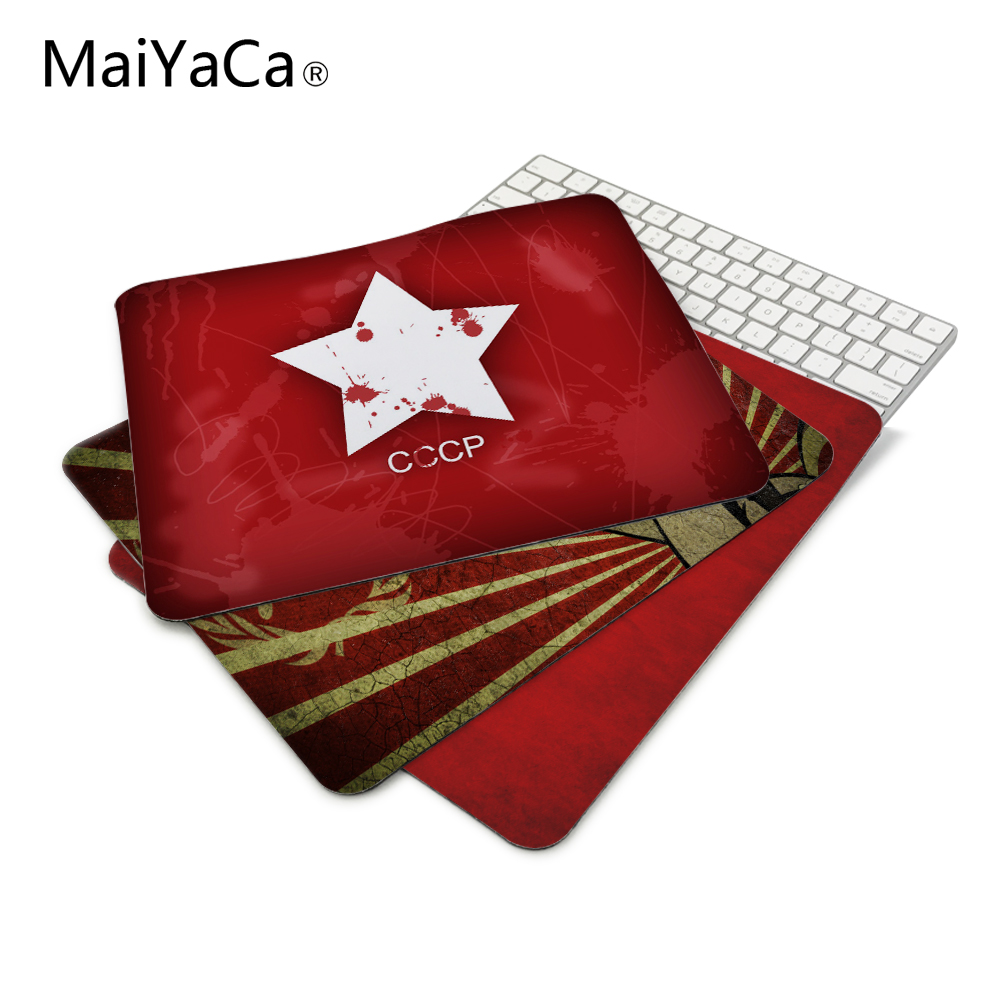 Stars Ussr Fast Printing Rubber Gaming Mouse Pad For Size 18*22cm 20*25cm 25*29cm