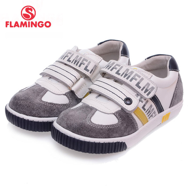 FLAMINGO 100% Russian Famous Brand 2016 New Arrival Spring & Autumn Kids Fashion High Quality shoes 61-XP126/ 61-XP127