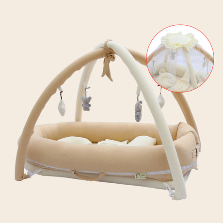 Baby Cribs baby nest baby lounger foldable baby travel crib bassinet portable nido bebe cuna portatil travel cot pillow Toy rack Детская кроватка