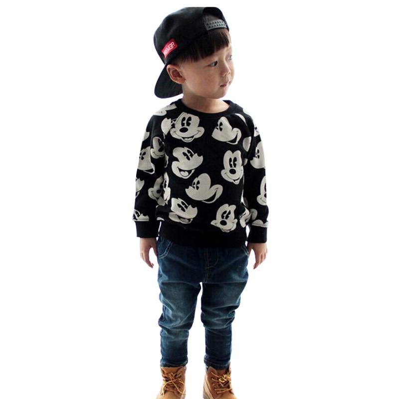 BoysGirls-Children-clothing-suit-Sweatshirts-Mickey-Clothing-Set-Cartoon-Printing-fashion-Cotton-Sweatshirts-set-boys-wear-1