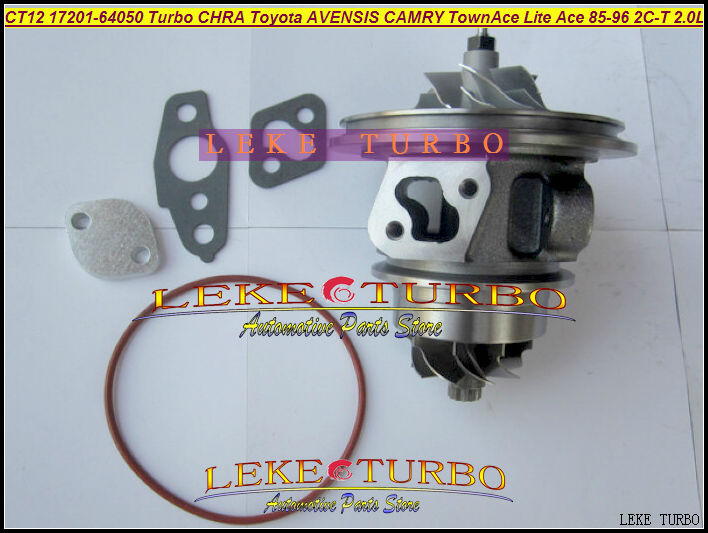Free Ship Turbo Cartridge Chra CT12 17201-64040 17201-64050 17201 64050 For TOYOTA AVENSIS CAMRY CARINA Lite Ace 2CT 2C-T 2.0L free ship turbo repair kit rebuild kits ct12 17201 64050 17201 64050 for toyota townace lite ace camry cv10 2c 2ct 2c t 2 0l