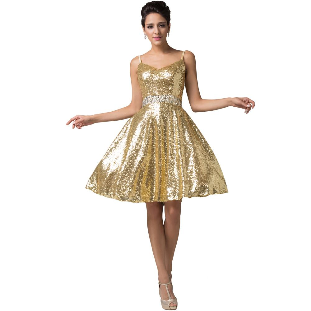 Popular Gold Junior Bridesmaid Dresses Buy Cheap Gold
