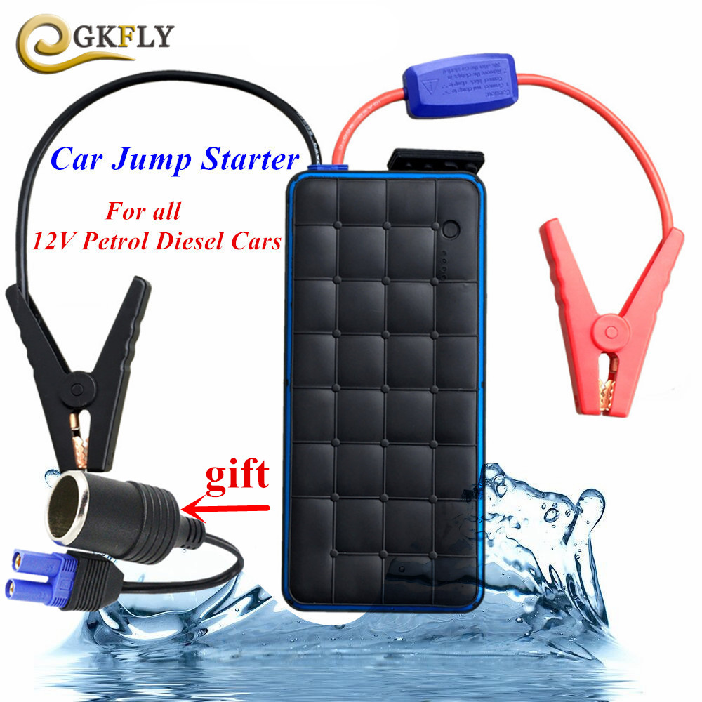 1000A Peak Current Car Jump Starter 12V Starting Device Power Bank Car Charger For Car Battery