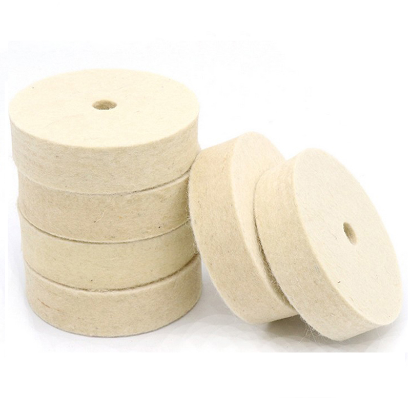 80mm Wool Polishing Pads Felt Polishing Wheel Mayitr