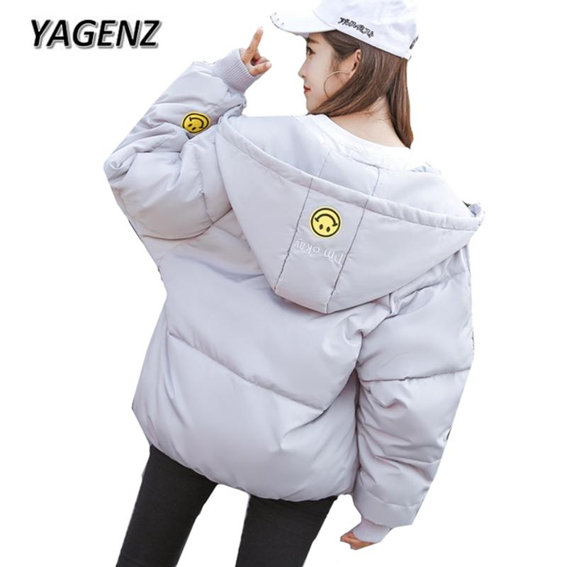 2018 Winter Parkas Women Jacket Hooded Student Short Coat Korean Thicker Warm Cotton Outerwear Casual Large Size Jackets Female down cotton winter hooded jacket coat women clothing casual slim thick lady parkas cotton jacket large size warm jacket student