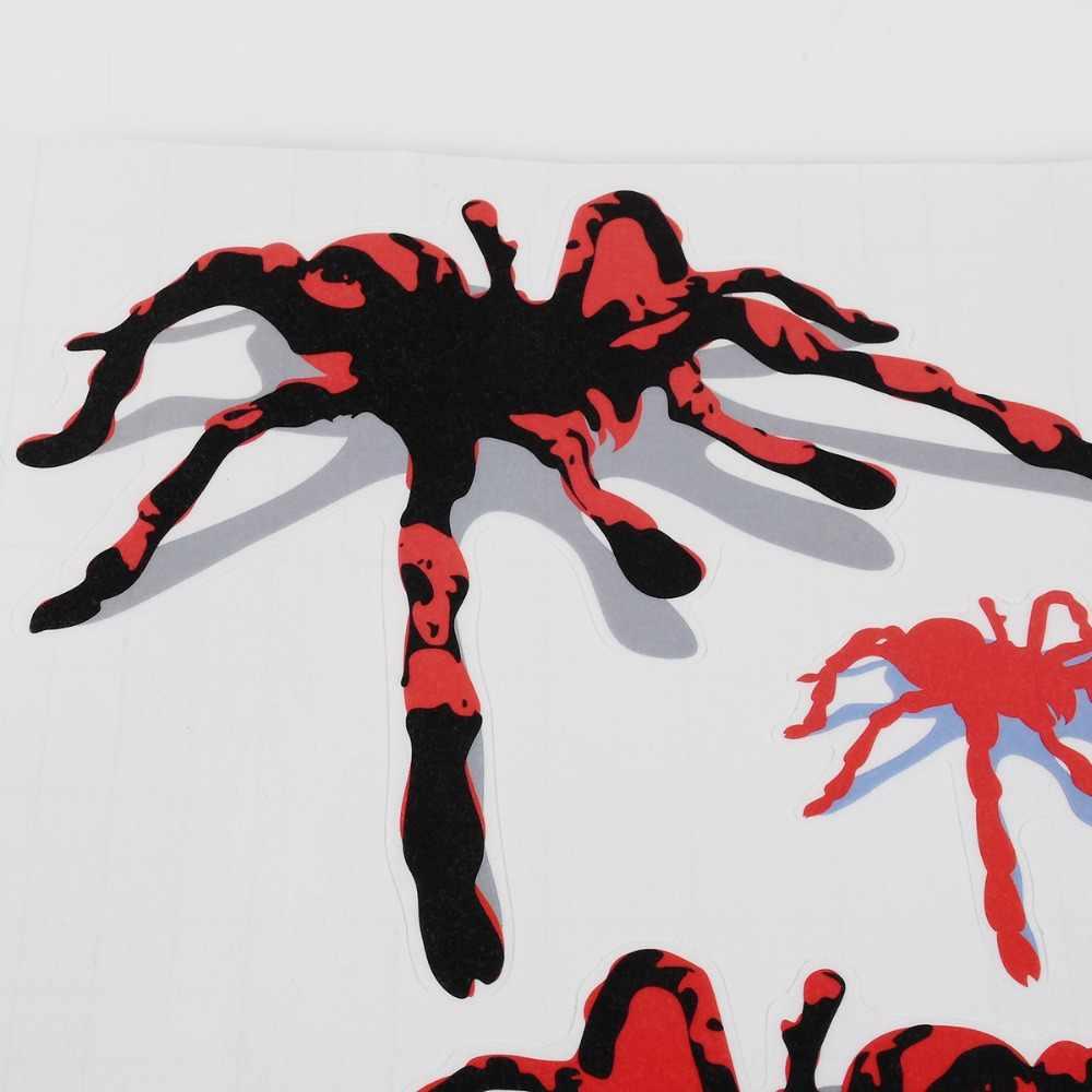 Pegatinas de coche 3D estilo de araña patrón de agujero de bala accesorios para automóvil motocicleta estéreo autoadhesivo pegatinas de coche