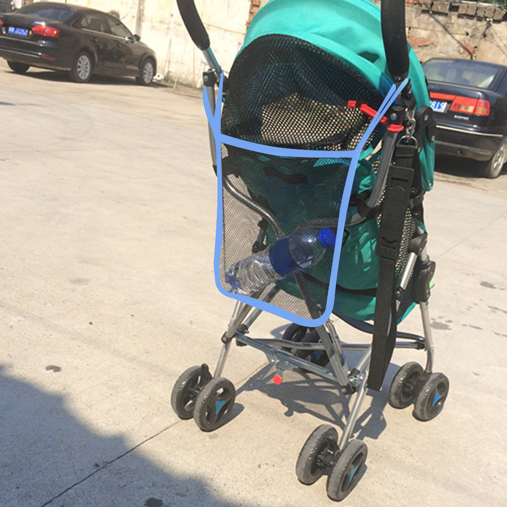 7f21fd9046f85 Poussette maille filet destockage bébé poussette sac de transport bébé  chariot maille sac poussette accessoires 3 couleurs dans Poussettes  Accessoires de ...
