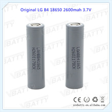 100% Original for LG B4 18650 3.7 V 2600 mAh Rechargeable battery for LG 2600 (ABB4) Li-ion Battery Industrial use(1 pc)