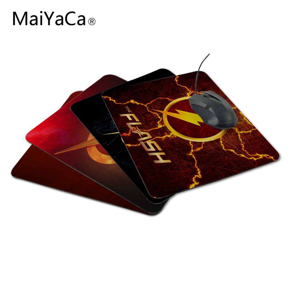 MaiYaCa Fashionable 2015 New Arrival Design The Flash Superheroes Luxury Printing Anti-Slip PC Laptop Mouse Pad Drop shipping image