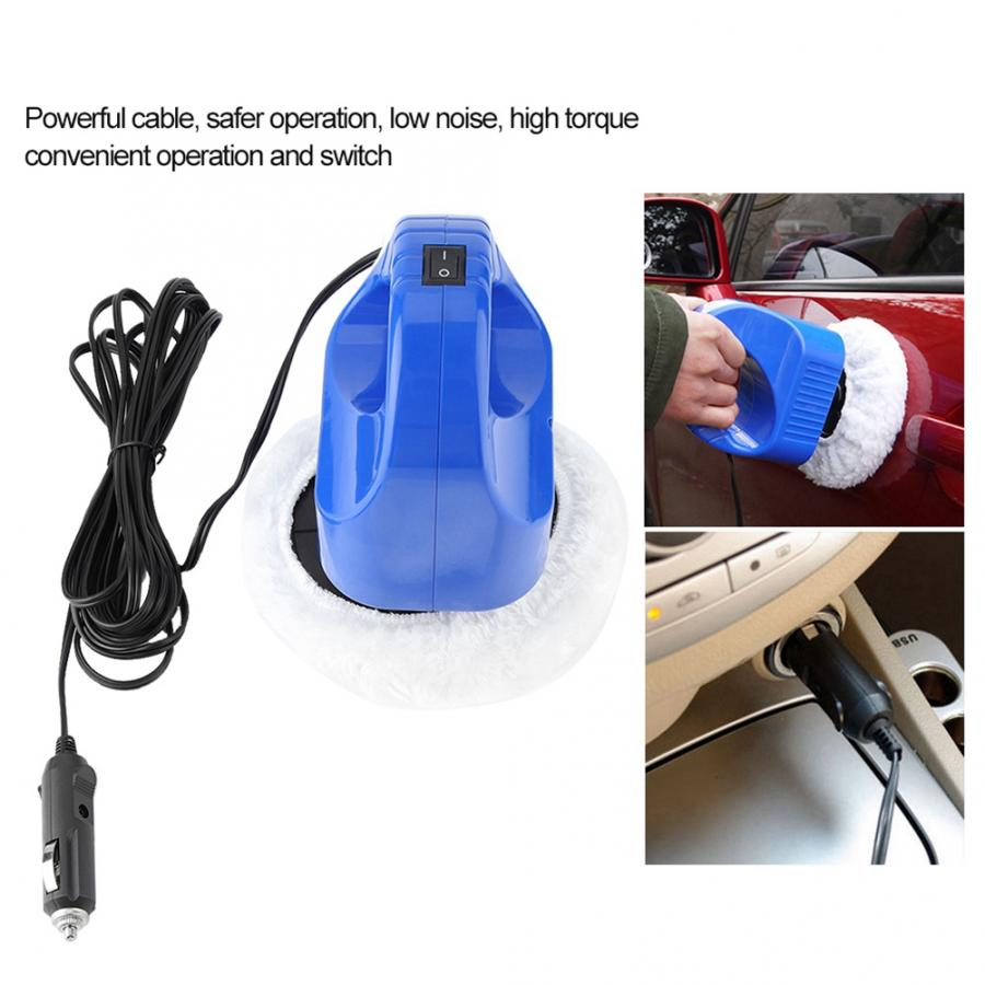 12V Car Polishing and Waxing Machine Electric Polisher Beauty Tool