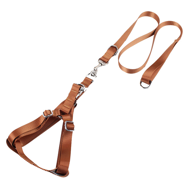 Safety Pets Acessorios 1inch Width Large Dog Harness Leash ...