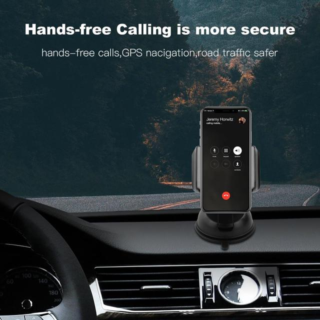 amzish Universal Phone Holder in Car For IPhone Samsung Huawei Xiaomi Mobile Phone Car Phone holder Stand Dashboard 6