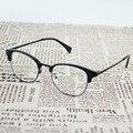 TR 90 Tortuga Negro Ojo de La Manera Gafas de Media Marco Eyewear para Los Adolescentes