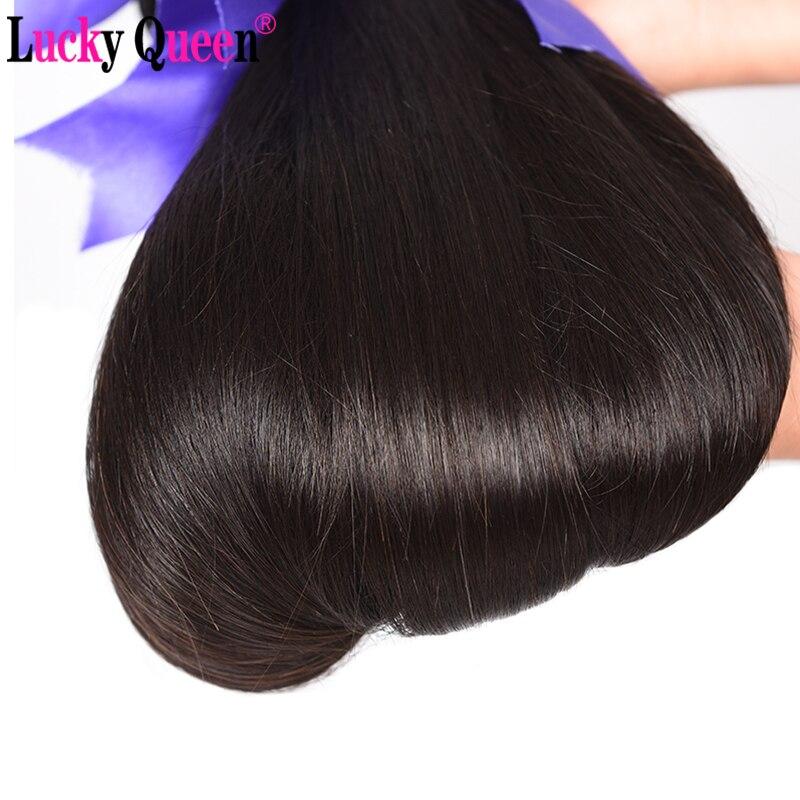 Lucky Queen Προϊόντα για τα μαλλιά Pruvian - Ανθρώπινα μαλλιά (για μαύρο) - Φωτογραφία 3