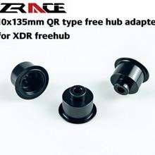 Zracing 10x135 мм QR Тип Бесплатный концентратор адаптер, для S R A M/D T XDR freehub 6g