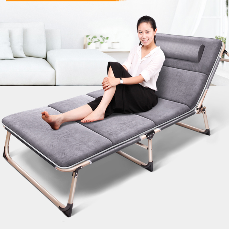Portable Folding Lounger Chair Heavy Duty Metal Frame Chaise Lounge with Adjustable Backrest Outdoor/Patio Furniture Noon Rest bluerise chaise lounge folding beach chair outdoor furniture three positions sun lounger recline or lay flat tanning massage