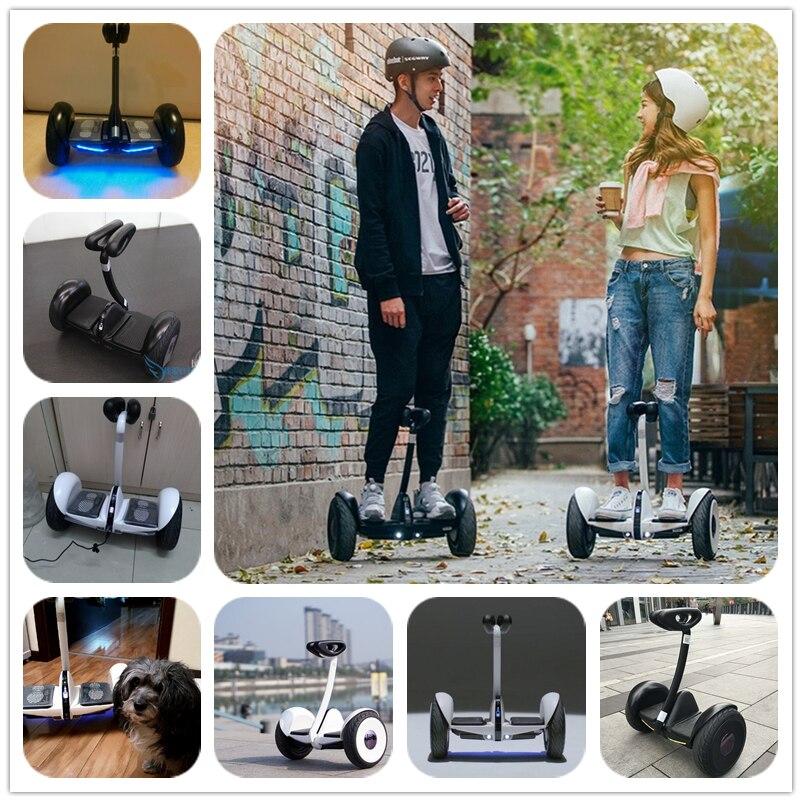 Оригинальный xiaomi mini ninebot умный самобалансирующийся скутер электрический 2 двухколесный скейтборд Ховерборд 10 дюймов Ховерборд - 6