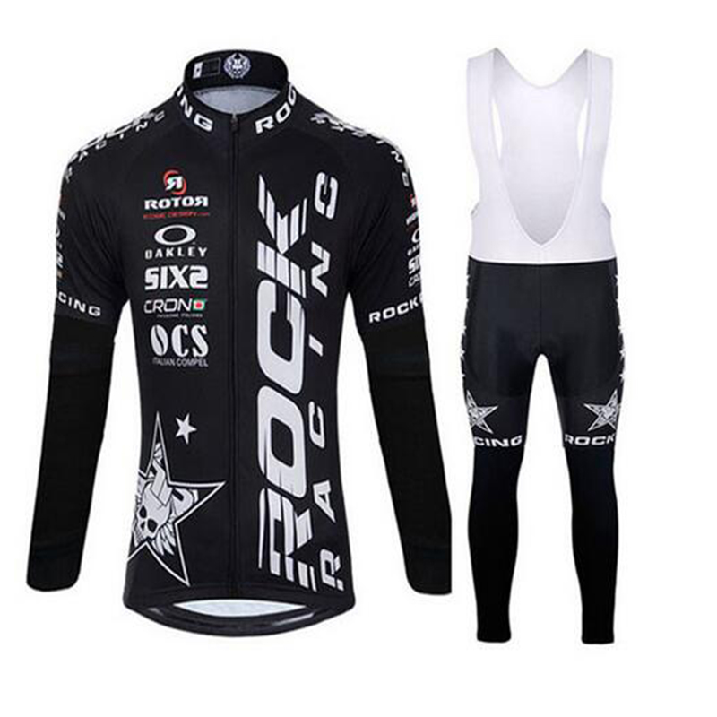 Rock Racing Cycling clothing long cycling jersey ropa cycling jersey custom made Ropa Ciclismo short Outdoor cycling wear team pirate skull cycling clothing cycling wear cycling jersey short sleeve clothing