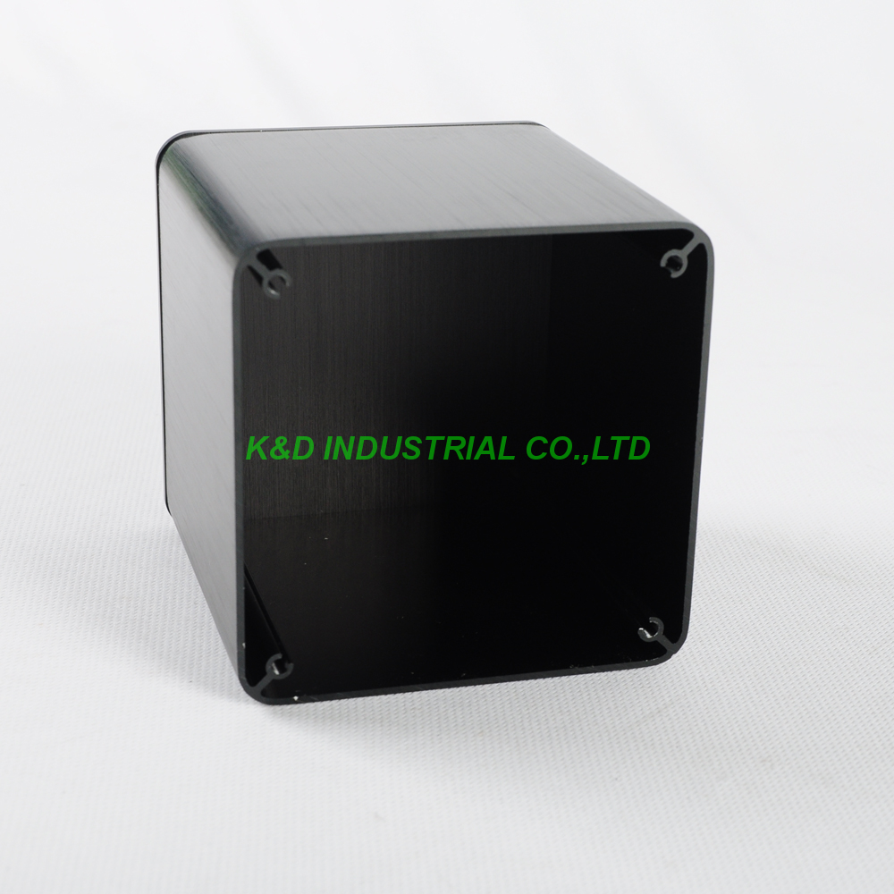 1pc Black Aluminum Transformer cover Case Box protect cover Fr Amp134x134x1414mm cactus pillow case cover 1pc