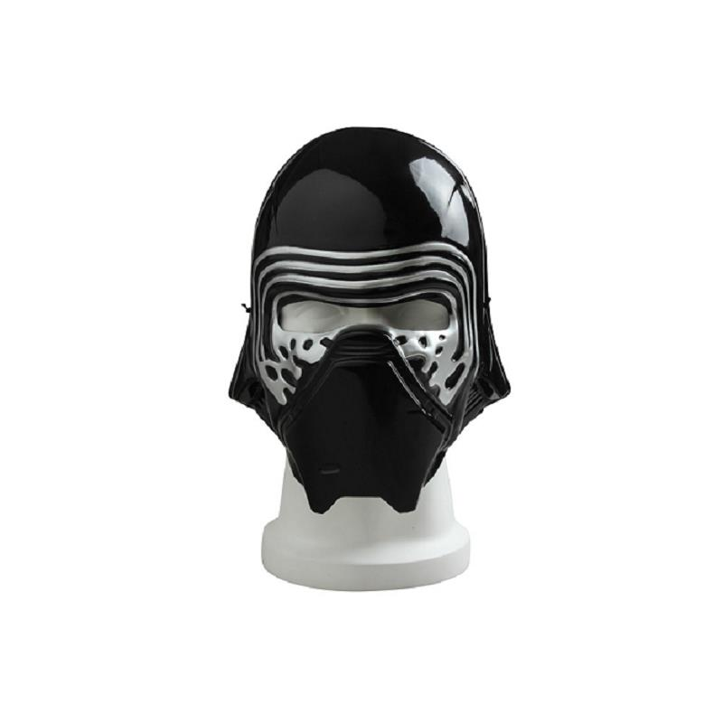 Star Wars 7 The Force Awakens Cosplay Mask Kylo Ren Mask Superhero Face Mask Halloween Accessories Props Black Adult Party Mask
