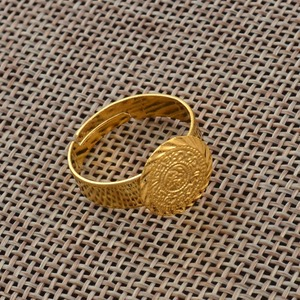 Image 4 - עתיקות קטן מטבע טבעת לנשים, משלוח גודל מטבעות ילדה אמצע מזרח תכשיטי מוסלמי אסלאמי סיטונאי מטבעות ערבית #139306
