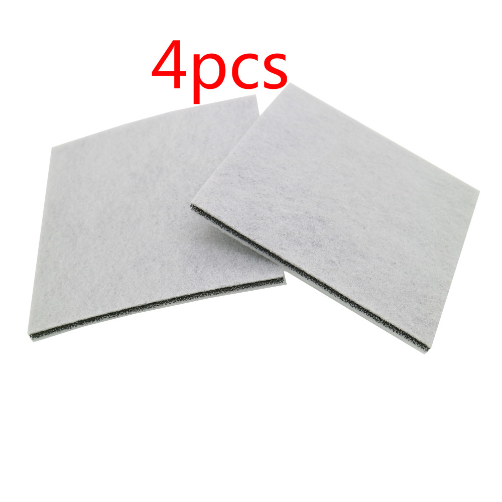 4PC Vacuum Cleaner HEPA Filter for Philips Electrolux Motor cotton filter wind air inlet outlet Filter Vacuum Cleaner Parts high quality vacuum cleaner air inlet filters washable efficient filter vacuum cleaner parts fc5823 fc5826 fc5828 30