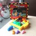 Quebra-cabeças para crianças Jogo de Tabuleiro Motorista Crianças Carro de Brinquedo Inteligente de Estacionamento Puzzle Brinquedos Portáteis Jogos de Partido 120 Cartões de Desafio Lógico
